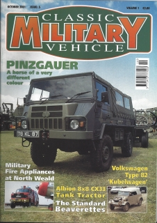 Classic Military Vehicle 10/2001